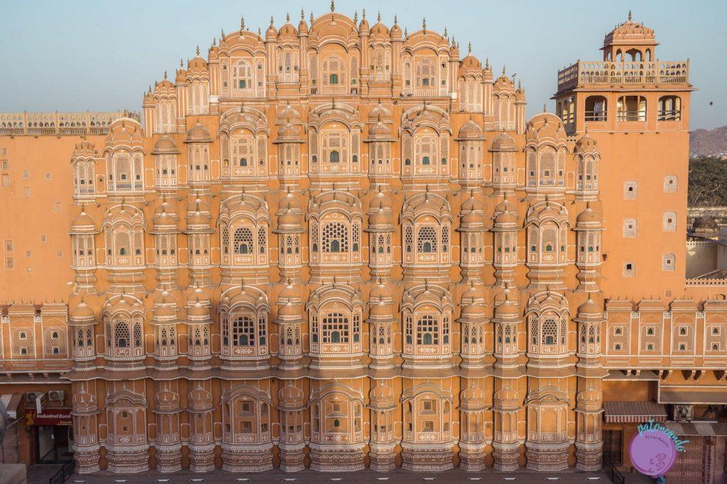 itinerario por el norte de India - Palacio de los vientos en Jaipur - Patoneando blog de viajes