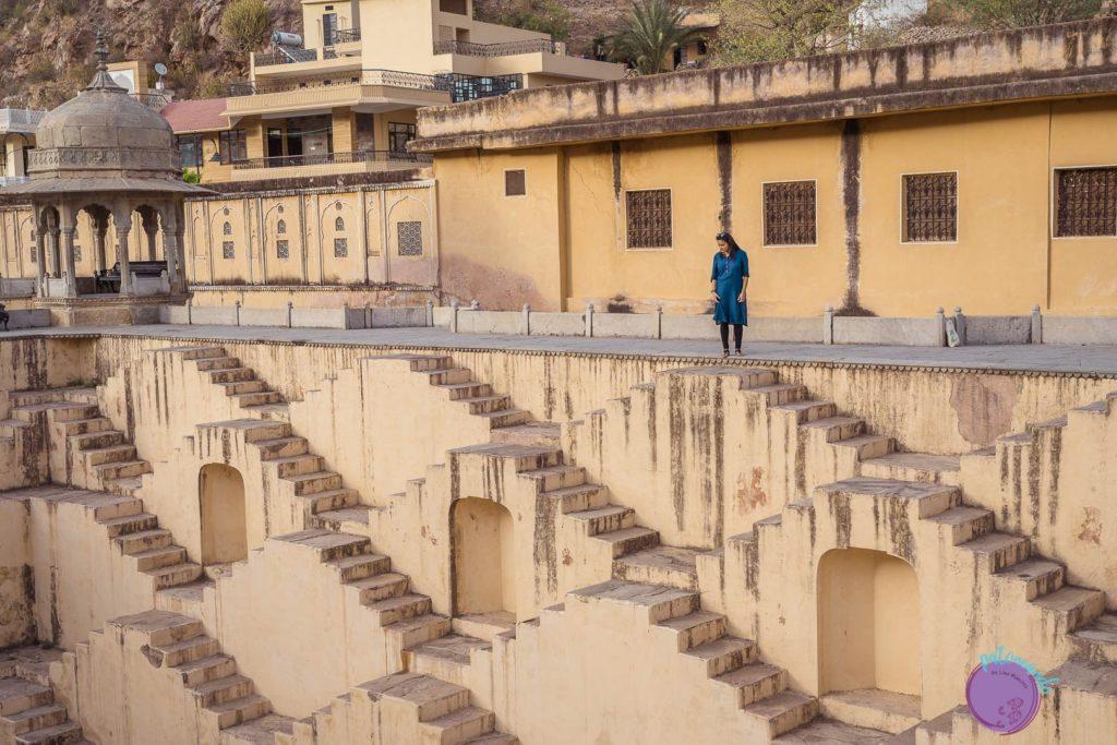 itinerario por el norte de India - templo de Panna Meena Ka Kund - Patoneando blog de viajes
