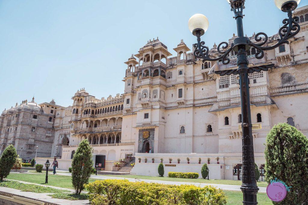itinerario por el norte de India - Palacio en Udaipur - Patoneando blog de viajes