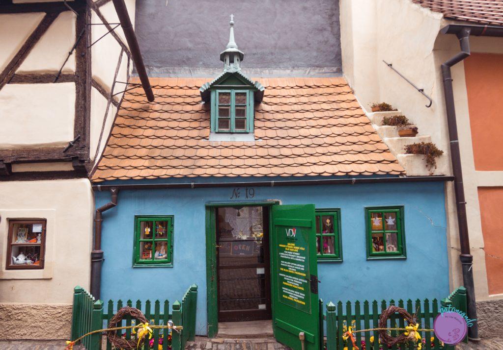 Itinerario para visitar Praga en tres días - Casa de Franz Kafka en Praga -Patoneando blog de viajes