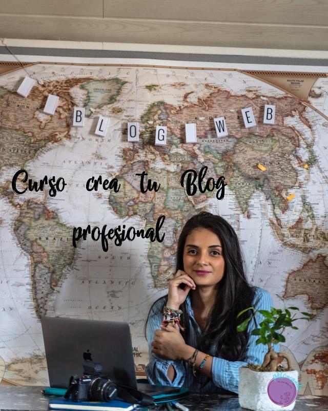 Curso crea tu blog profesional - Lina Maestre - Patoneando blog de viajes
