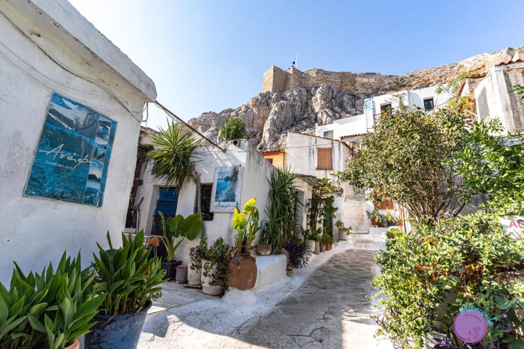 Qué hacer en tres días en Atenas - Barrio Anafiotika - Patoneando blog de viajes
