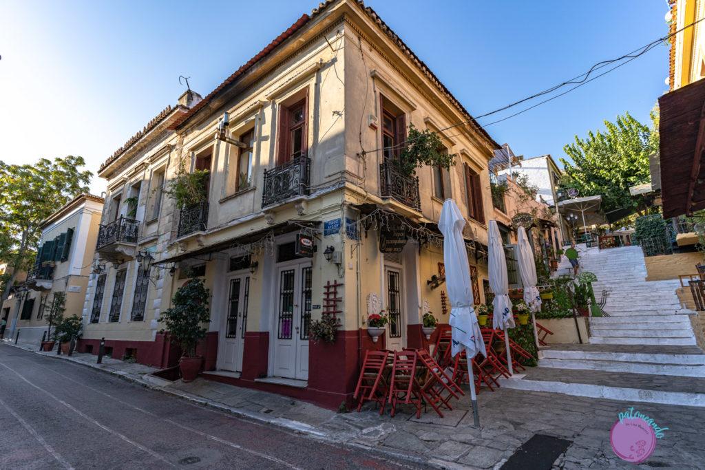 Qué hacer en tres días en Atenas - Barrio Plaka - Patoneando blog de viajes