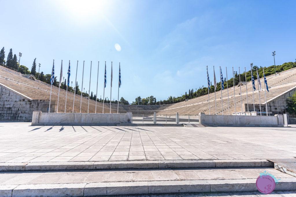 Qué hacer en tres días en Atenas - Coliseo de marmol en Atenas - Patoneando blog de viajes