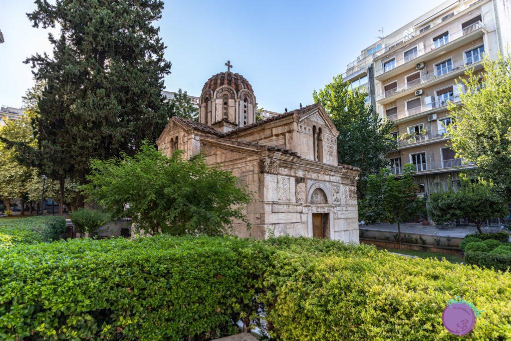 Qué hacer en tres días en Atenas - Iglesia bizantina - Patoneando blog de viajes