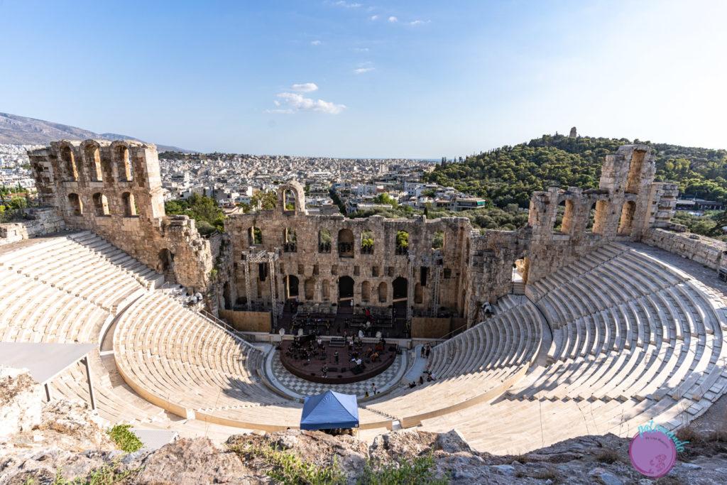 Qué hacer en tres días en Atenas - Teatro de la Acrópolis - Patoneando blog de viajes