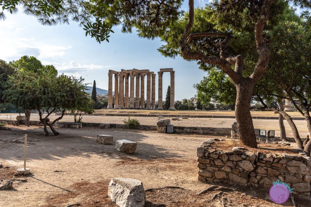 Qué hacer en tres días en Atenas - Templo de Zeus - Patoneando blog de viajes