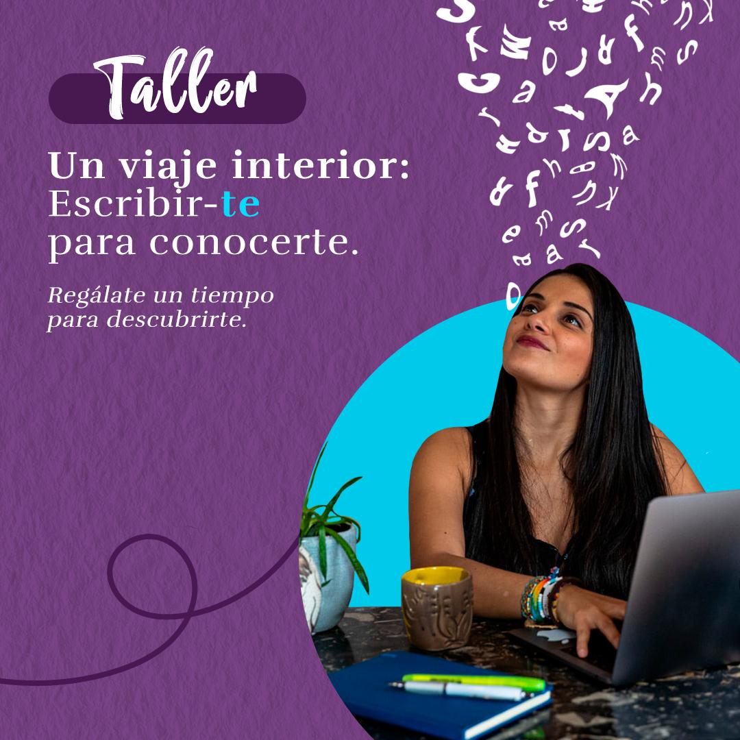 Taller de escritura un viaje interior - Lina Maestre - Patoneando