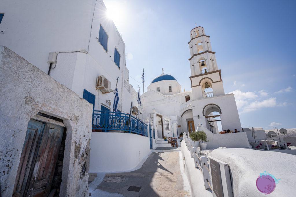 Guia para viajar a Santorini, Grecia - Imerovigli - Patoneando blog de viajes