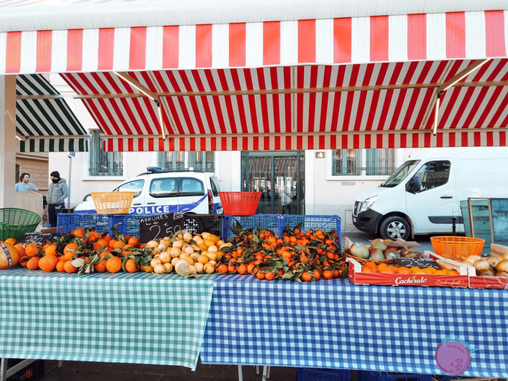 Qué ver en la costa Azul de Francia - mercado en niza- la Riviera francesa - Patoneando Blog de viajes